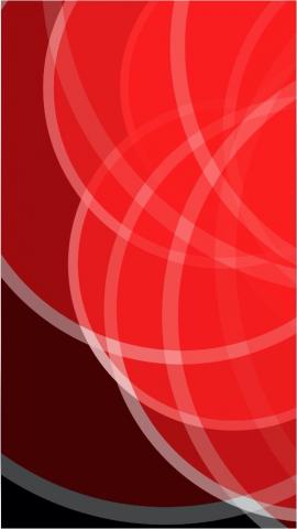 Красные круги. Абстракция.