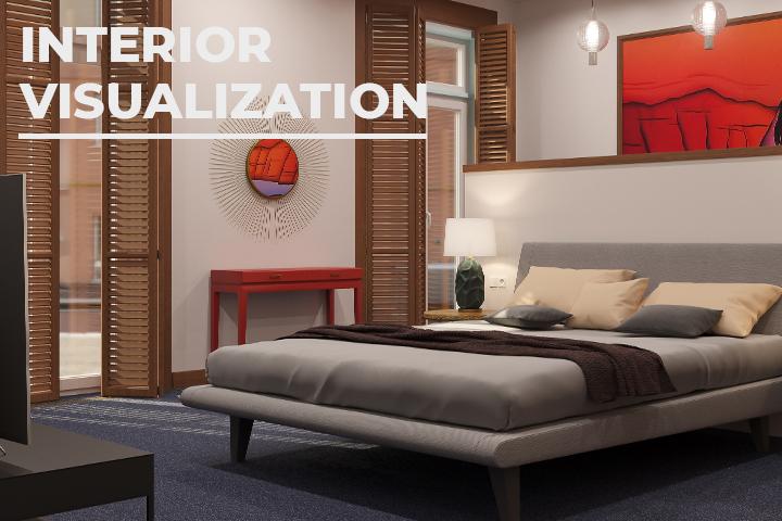Визуализация интерьера квартиры по ТЗ дизайнера