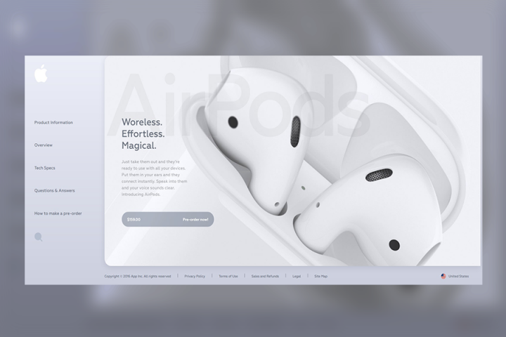 AirPods-Landing Page