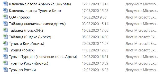 Настройка и ведение Яндекс Директ (турагентство)
