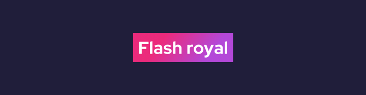 Логотип Flash royal