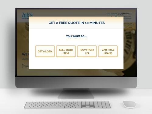 Редизайн сайта для сити ломбардов