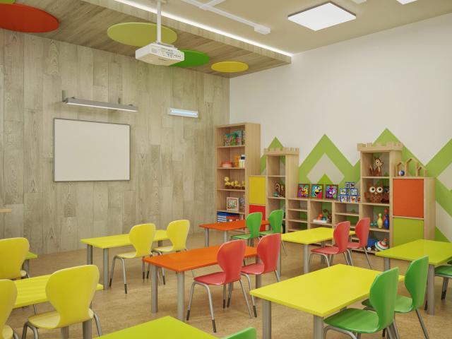 """Дизайн проект детский сад, включая раздел """"отделочные работы"""""""