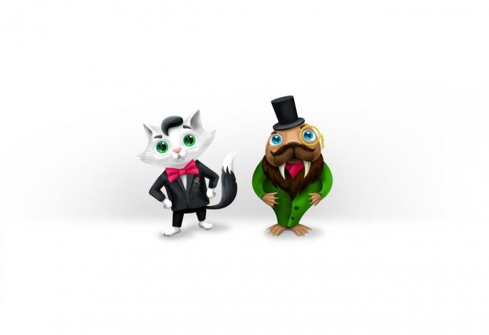 Персонажи для мобильной игры