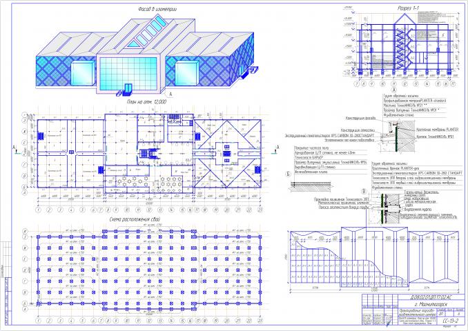 Строительство торгово развлекательного центра