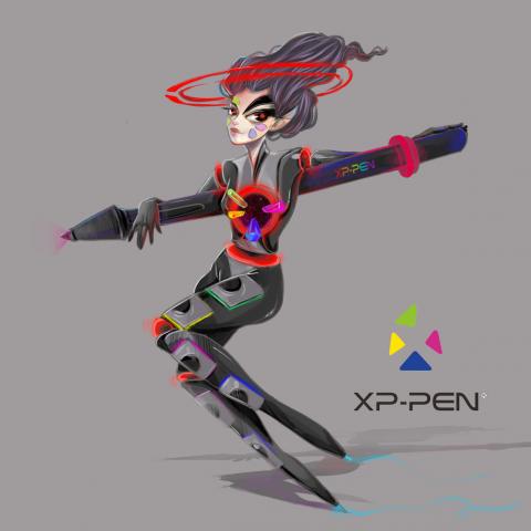 Хуманизация планшета XP-PEN