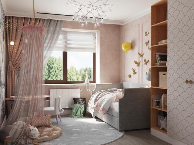 Детская, частный дом, 2020