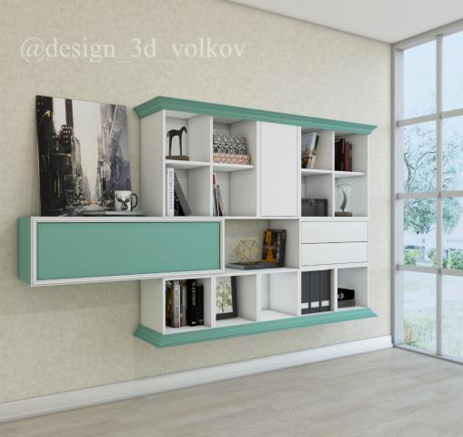Разработка изображений для каталога мебельный молдингов