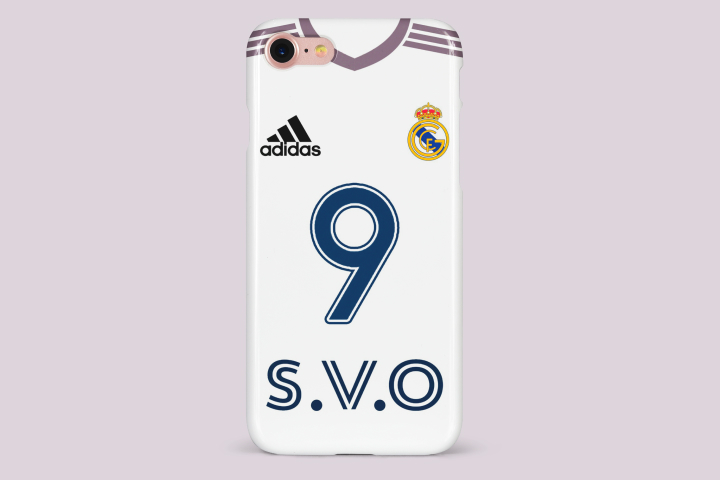 Дизайн спортивного чехла — «Форма Реал Мадрида 20/21 сезона»