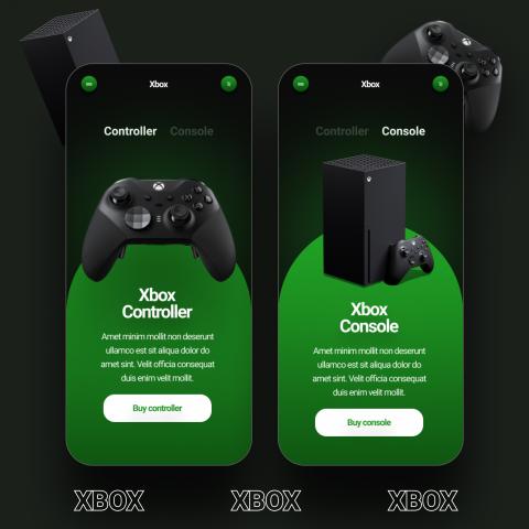 Mobile app Xbox