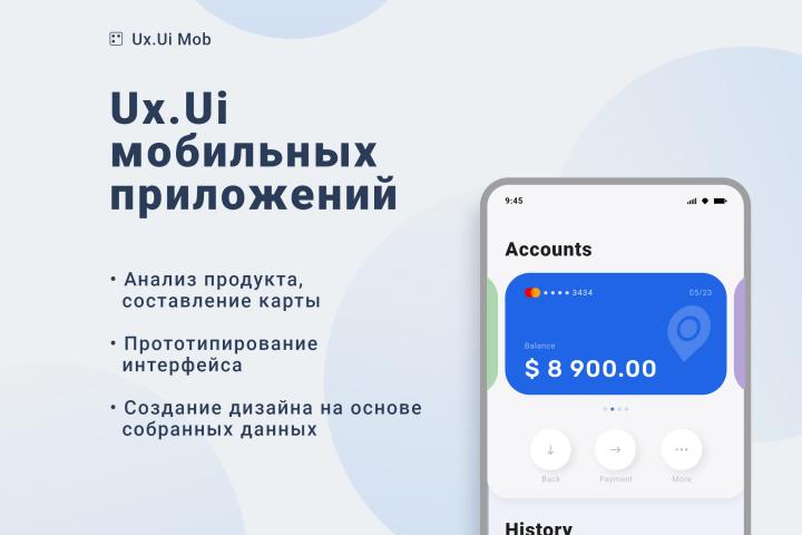 Ux.Ui Мобильных приложений