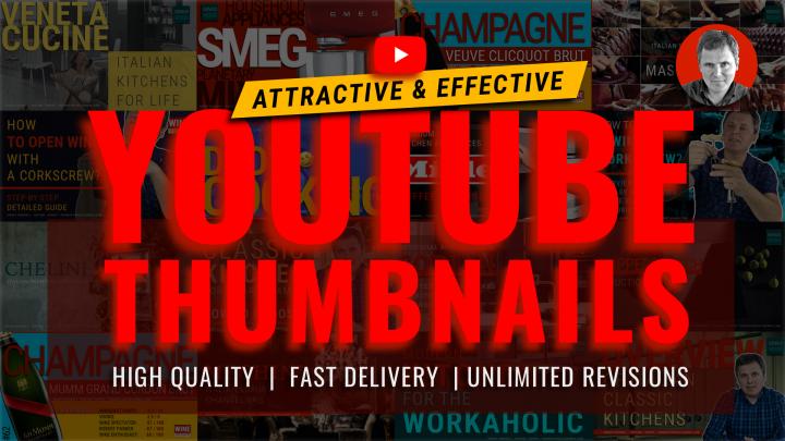 YouTube. Дизайн заставок, баннеров, логотипов YouTube каналов