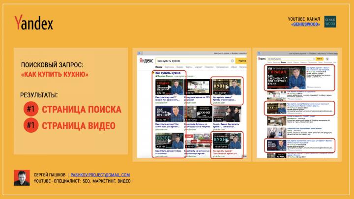 Продвижение YouTube видео на первые страницы Google и Яндекс
