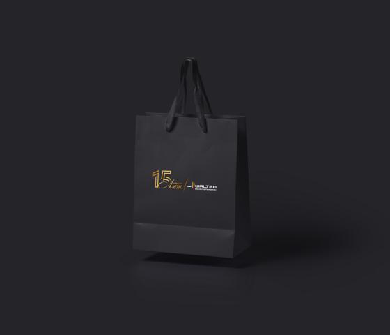 Пакет для юбилея компании «Вальтер»