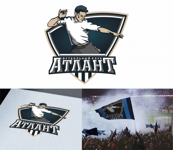 Логотип для школы по футболу