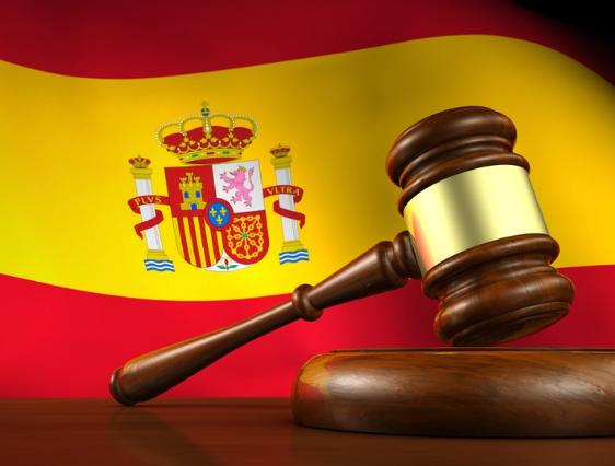 Перевод сайта испанской юридической компании на английский язык