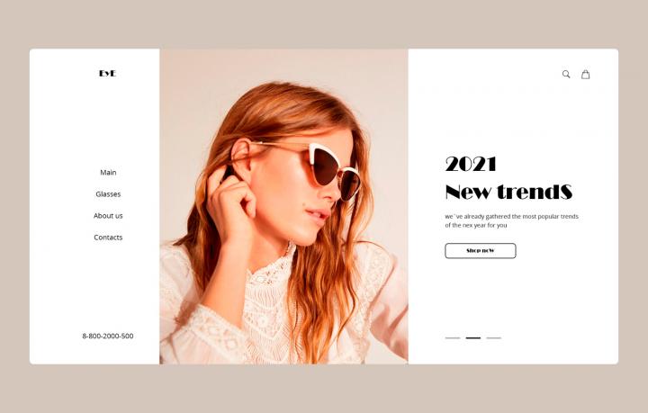 Интернет - магазин трендовых очков