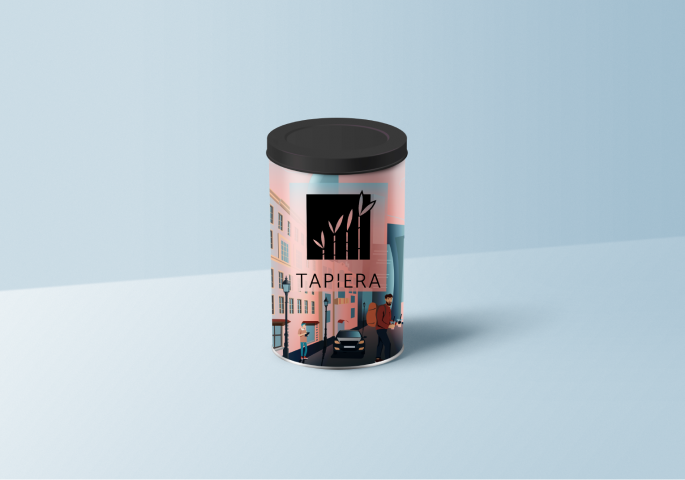 urban tea packaging