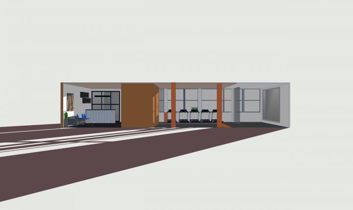 концепция тренажерного зала