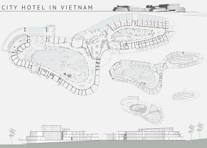 концепция отельного комплекса