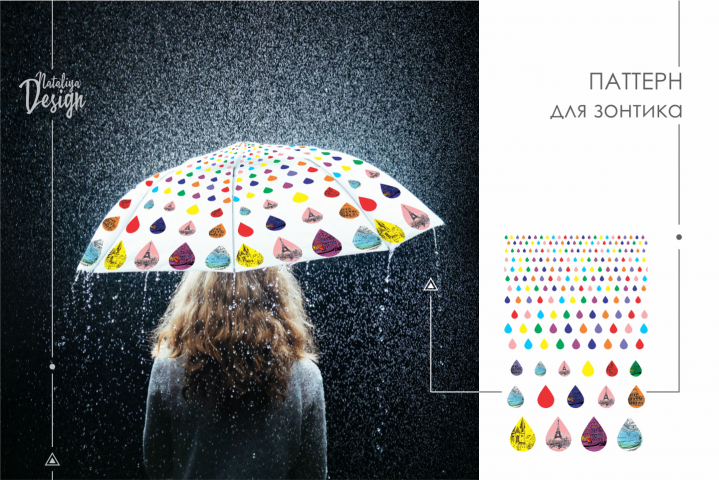Разработка паттерна для зонтика