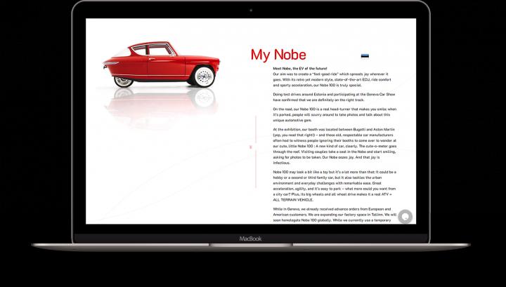 Сайт mynobe.com
