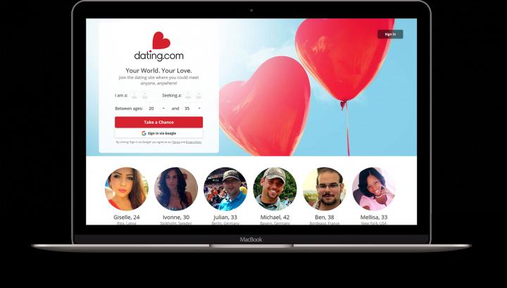 Мобильное приложение и сайт Dating.com