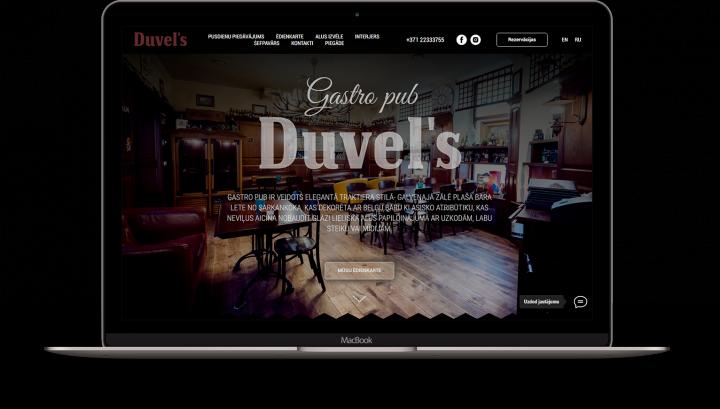 Сайт Гастро-ПАБ Duvels