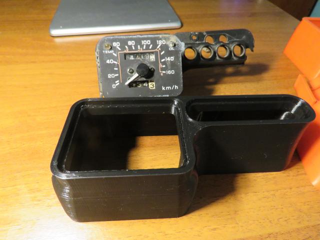 3D печать - корпус спидометра мотоцикла