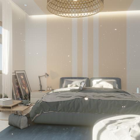 Визуализация спальни видео