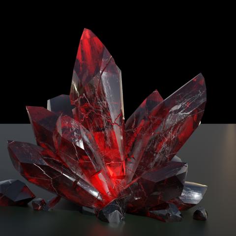 3д кристалл для сайта