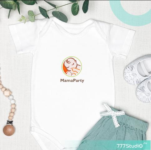 логотип для мамочек