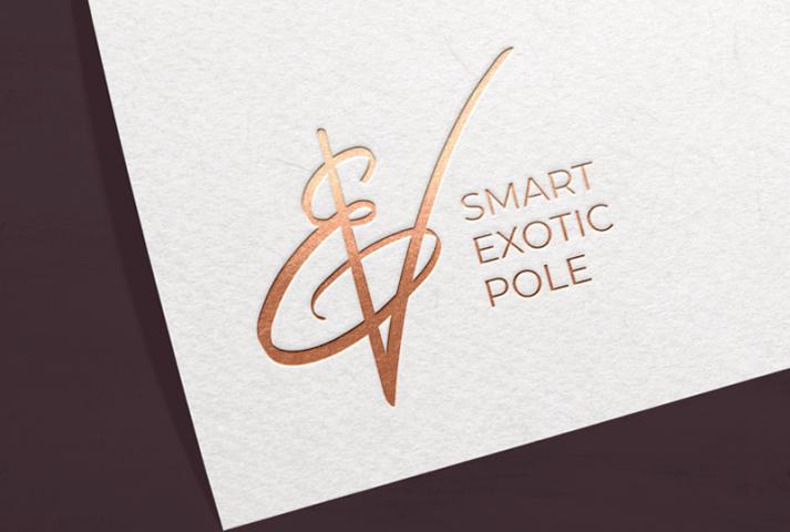 Логотип для тренера направления Exotic Poledance - Elena Voigt
