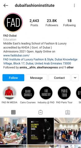 Dubai Fashion School