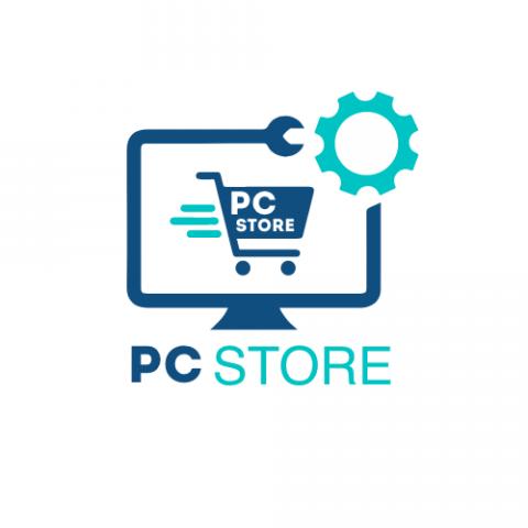 Логотип для компьютерного магазина