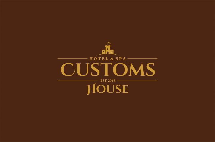 """Разработка логотипа для гостиницы """"Customs House"""""""