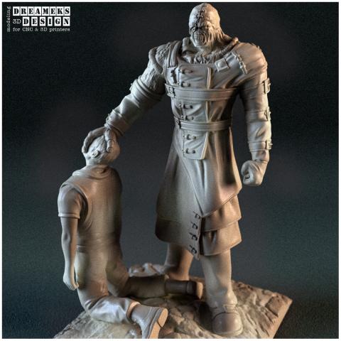 3D под печать, миниатюра