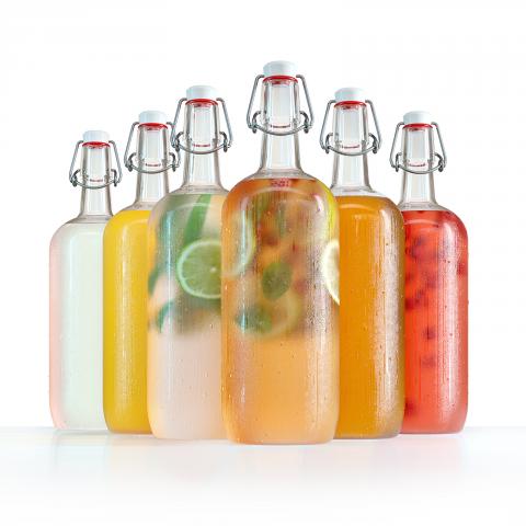 Моделинг и визуализация бутылок для WB