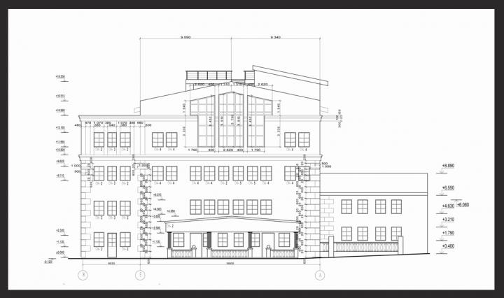 Реконструкция фасад