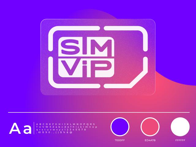 Логотип для интернет магазина по продаже сим карт