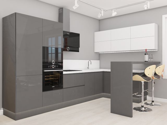 Моделирование кухни для мебельной компании