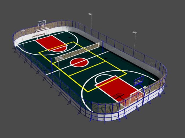 Моделирование спортивных объектов