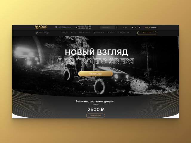 Интернет-магазин 6000К