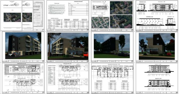 Предпроект 9-ти кв-ого жилого дома Канада Онтарио 2021