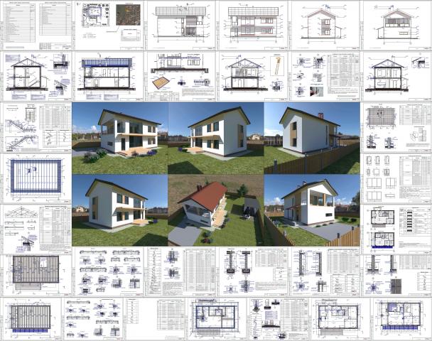 АС Жилой дом в МК Западный-1 2021