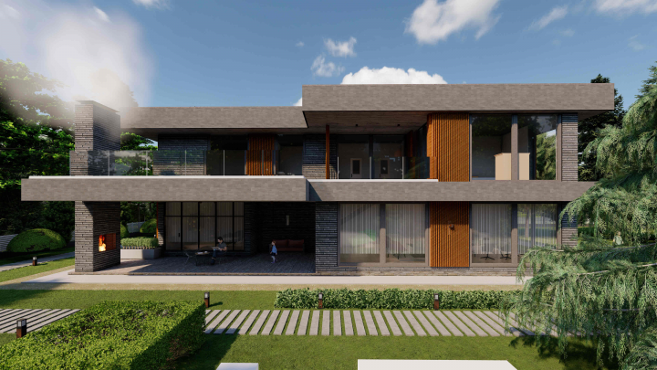 Частный жилой дом 550 м2