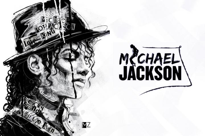 Michael Jackson (Zain Style Art)