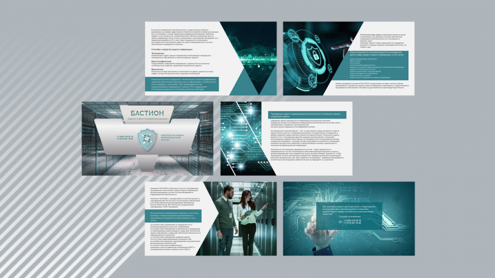 Презентация: Компания БАСТИОН. 6 слайдов (PDF)
