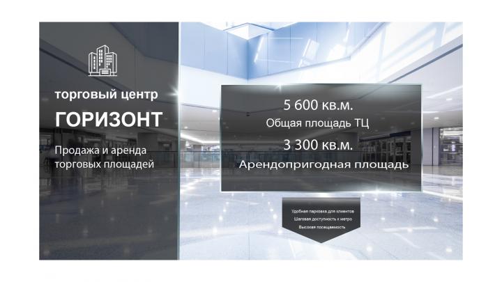 Презентация: Торговый центр. 4 слайда (PDF)