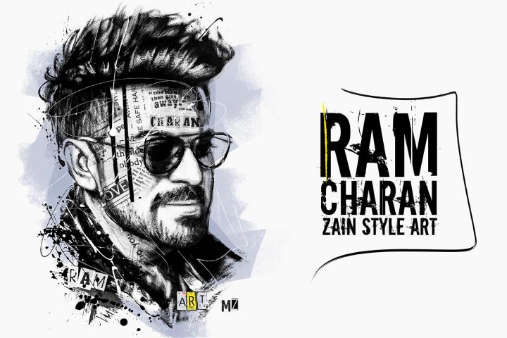 Ram Charan (Zain Style Art)